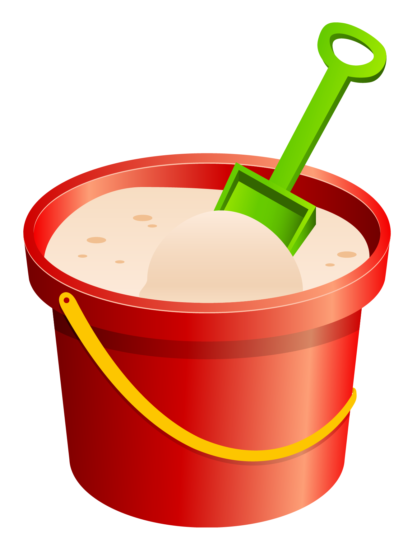 1341x1716 Red Sand Bucket And Green Shovel Png Clipartu200b Gallery