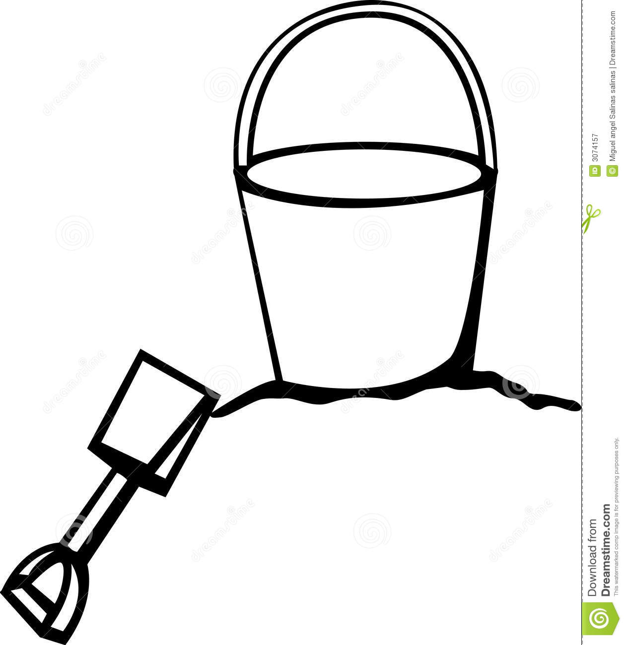 1261x1300 Sand Bucket And Shovel Clipart
