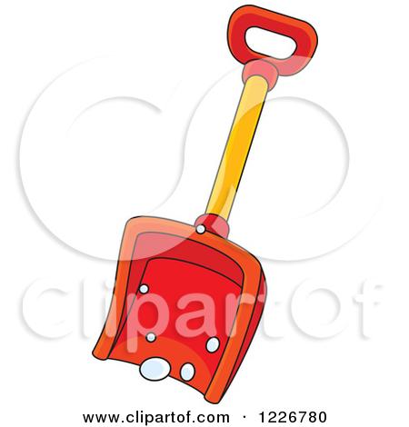 450x470 Snow Shovel Clipart