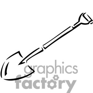 300x300 Black Clipart Shovel