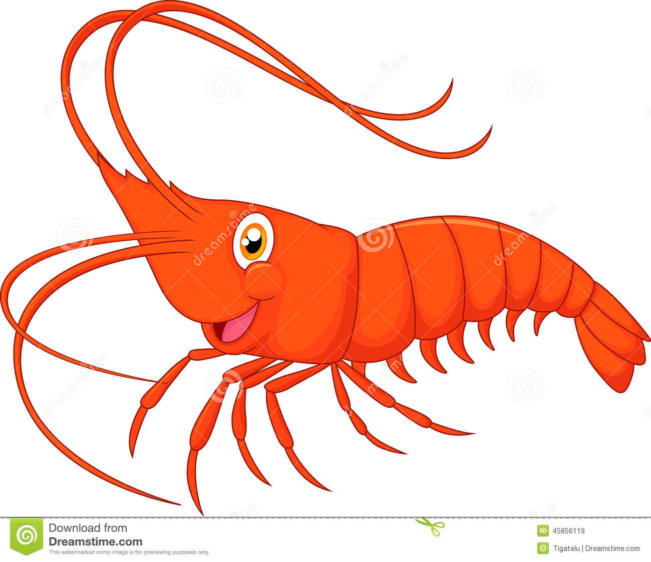 1300x1123 Free Cartoon Shrimp Clipart