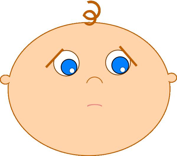 600x528 Shy Baby Not Pouty Clip Art