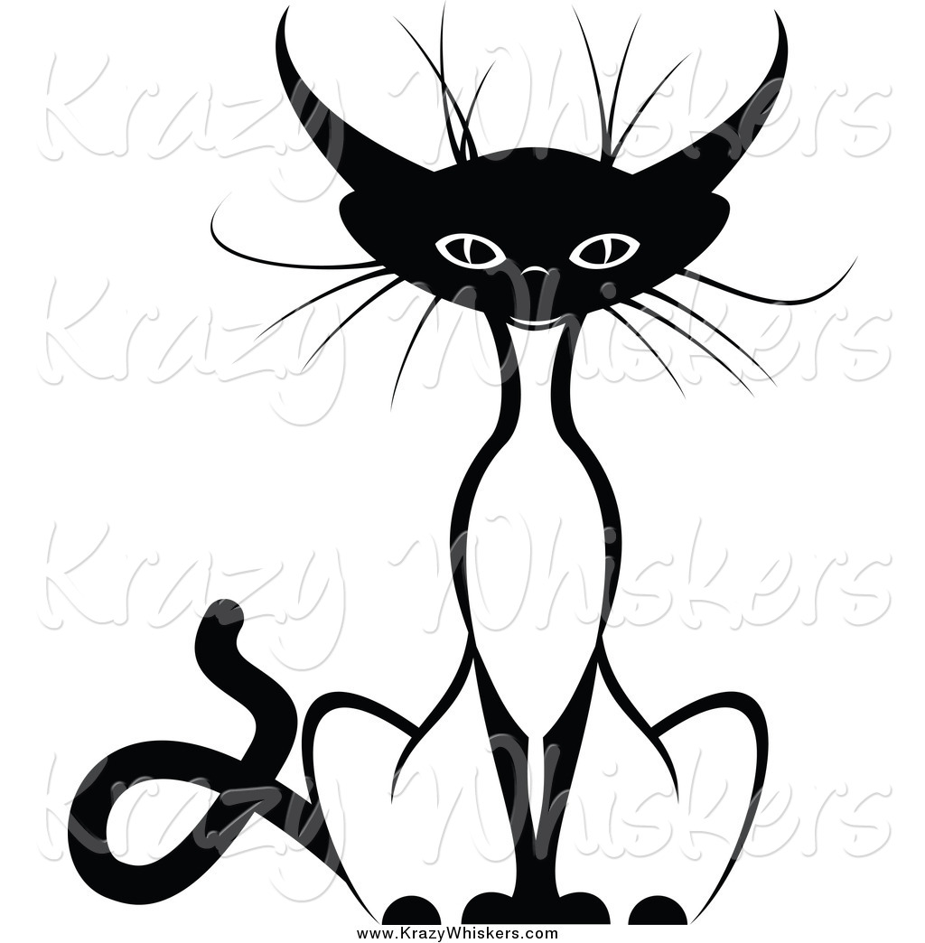 1024x1044 Critter Clipart Of A Sitting Siamese Cat By Seamartini, How Many