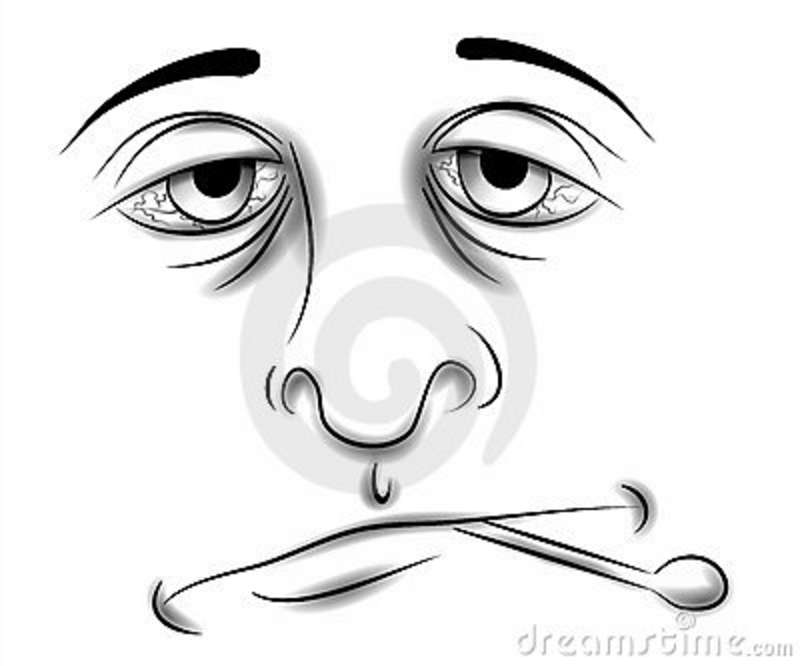 800x666 Tired Face Clip Art Black And White Clip Art Illustration