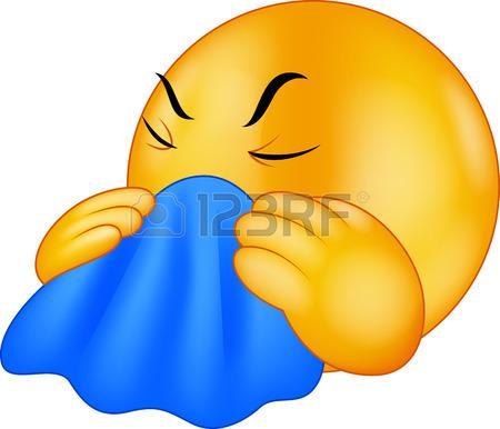 450x386 Cold Clipart Emoticon