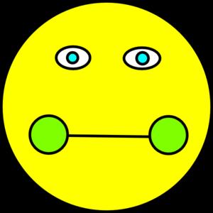 300x300 Sick Smiley Face Clip Art