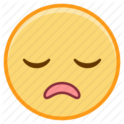 256x256 Emoji, Emotion, Face, Relief, Sigh, Tired Icon Icon Search Engine