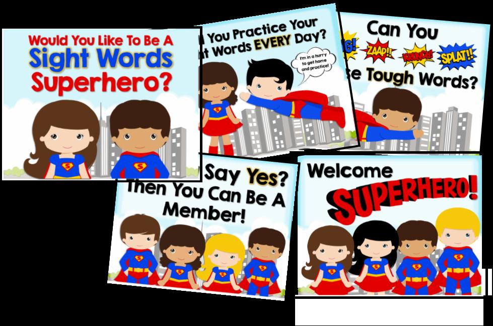979x649 Woo Hoo! Sight Word Superheroes!!! Mrs. Gilchrist's Class