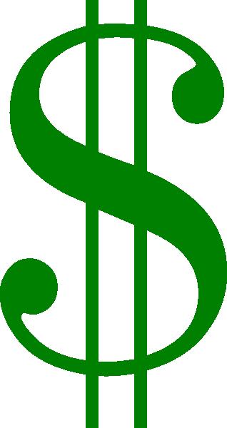 318x600 Money Signs Clip Art