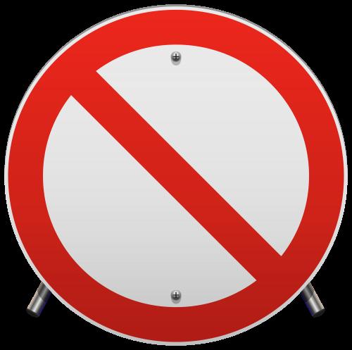 500x497 No Parking Sign Png Clip Art