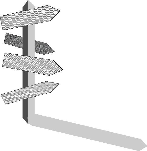 582x597 Street Sign Post Clip Art