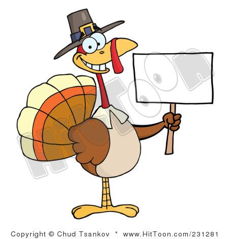 450x470 Turkey Clipart Sign Clip Art