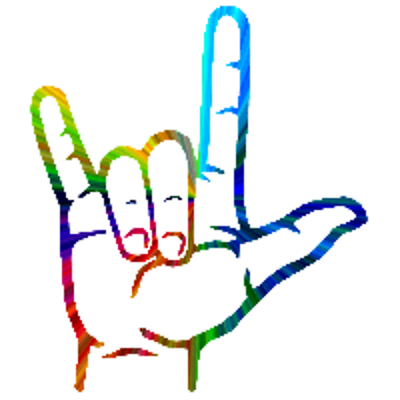 400x400 American Sign Language Clipart