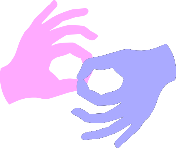 600x504 Connect Sign Language Clip Art