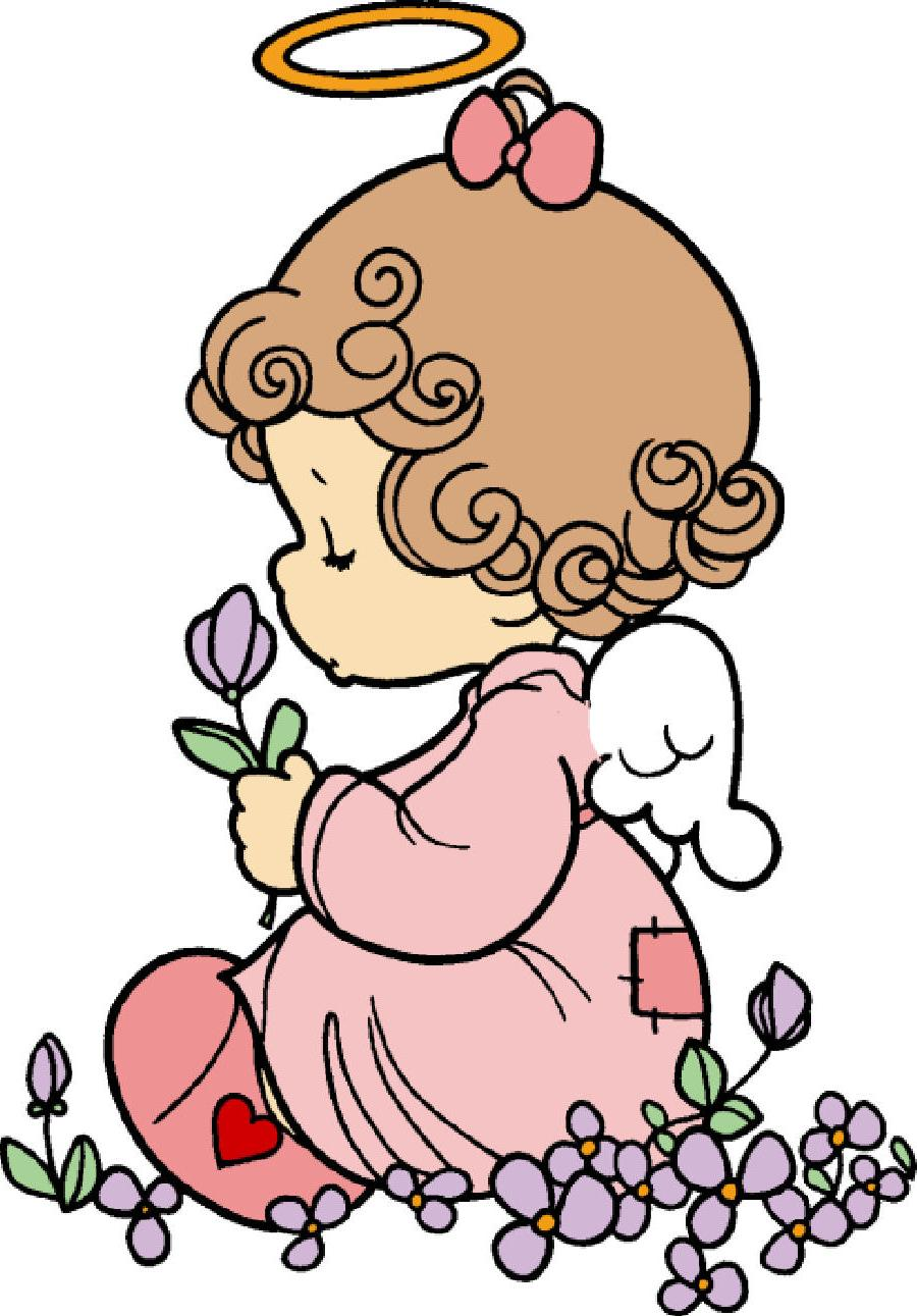 900x1291 Unique Precious Moments Baptism Clip Art Design Free Vector Art