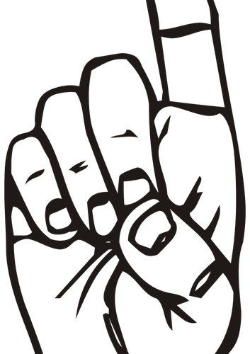 353x500 Vector Clip Art Of Different Messages In Sign Languages Public