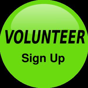 300x300 Volunteer Sign Up Button Clip Art
