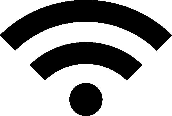 600x404 Wireless Signal Icon Clip Art