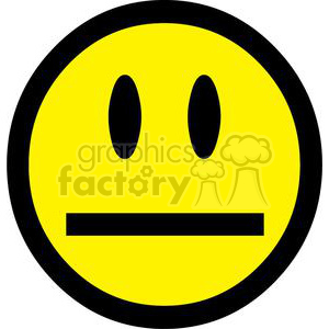 300x300 Royalty Free Silence Emoticon 379766 Vector Clip Art Image
