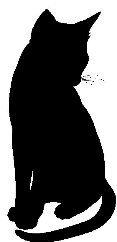 397x817 27 Best Silhouettes Of Cats Images Animation