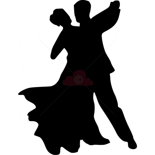 600x600 Dancer Clipart Silhouette Clipartfest 2