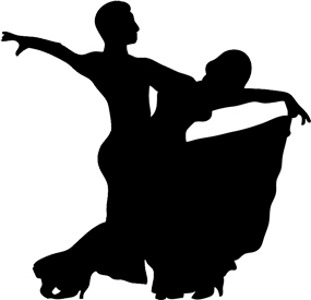 285x275 Dancing Clipart Dancer Silhouette