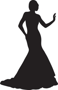196x300 Female Silhouette Clip Art