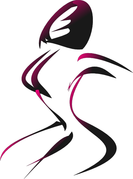 444x597 Female Silhouette Clip Art