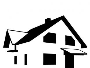 310x233 House Silhouette Clip Art Free Vectors Ui Download