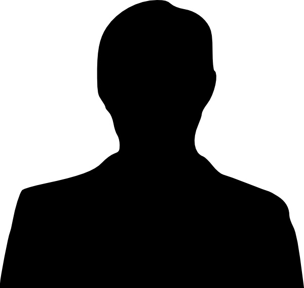 600x568 Black Man Silhouette Free Vector Download (12,761 Free Vector)
