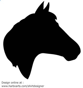 335x355 Head Silhouette Clipart