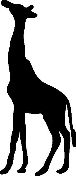 258x594 Giraffe Silhouette Clip Art