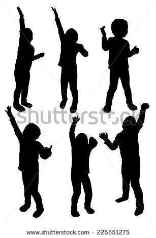 307x470 Of Silhouette Of African American Men Reaching To Pull Each Other Up