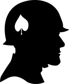Silhouette Soldier Clipart