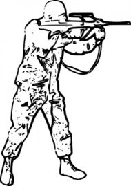 190x269 Soldier Clip Art Download 99 Silhouettes
