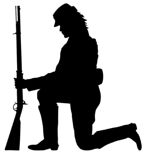 silhouette soldier clipart free download best silhouette soldier