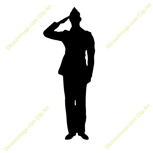 500x500 Soldier Silhouette Clip Art Many Interesting Cliparts