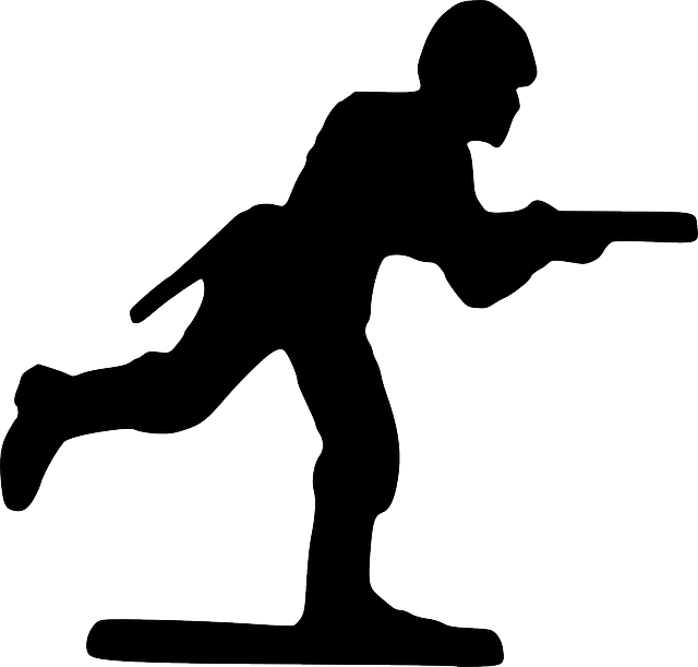 640x611 Wars Clipart Soldier Silhouette