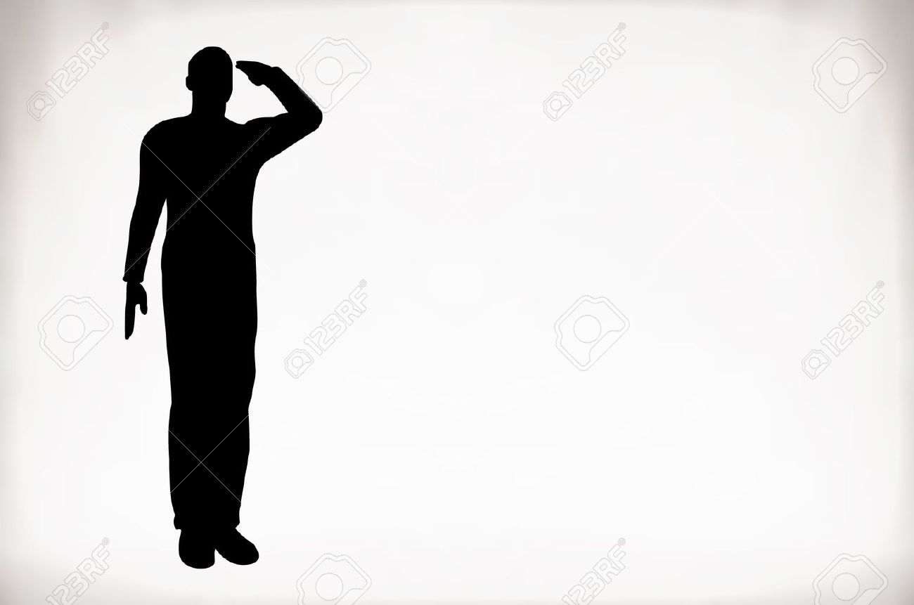 1300x861 Images Soldiers Salute Silhouette