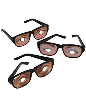 360x450 Funny Eyes Disguise Glasses (1 Dozen) Toys Amp Games