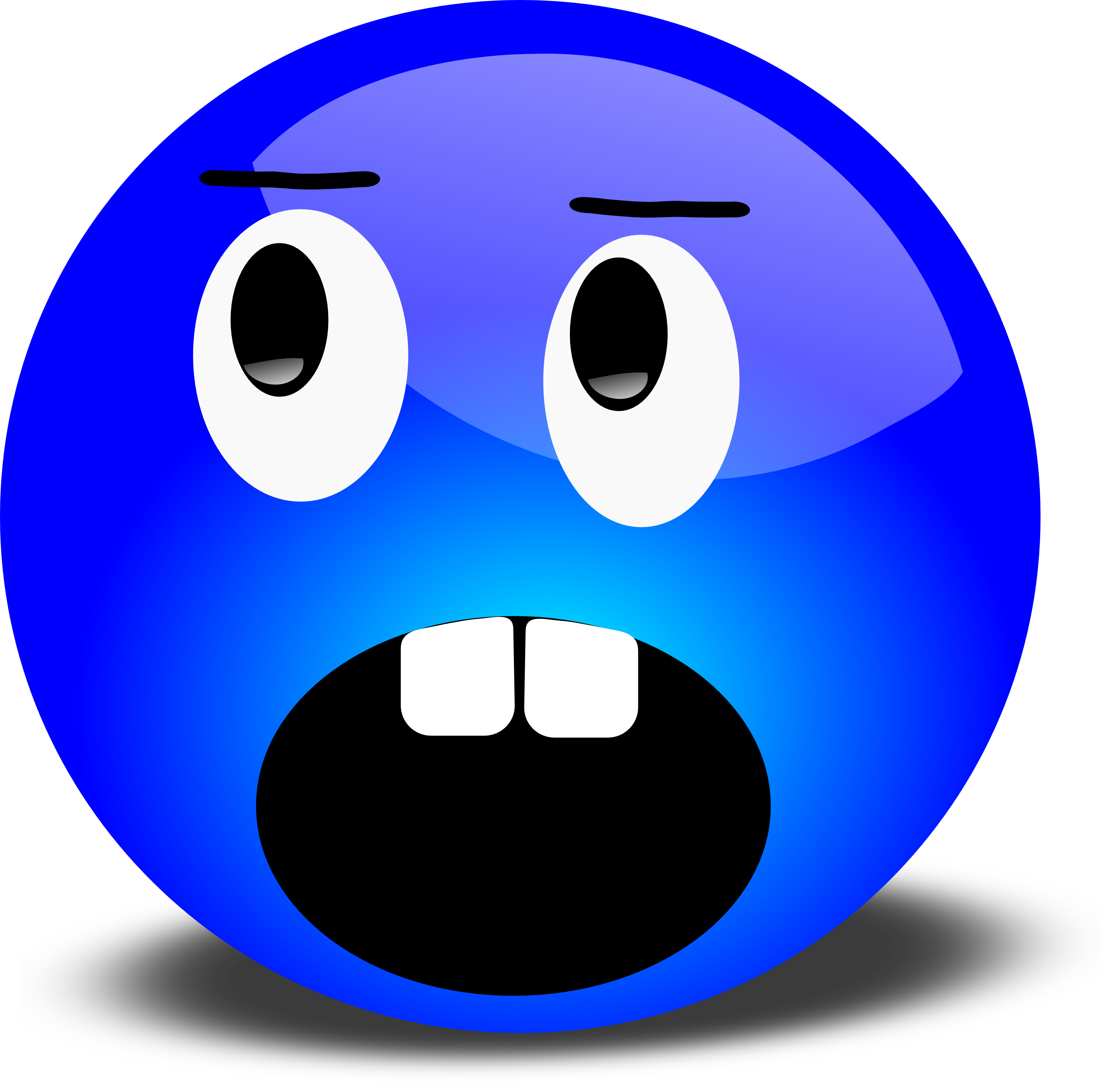 3200x3134 Shocking Clipart Funny Face