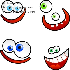 300x300 Silly Smile Clip Art