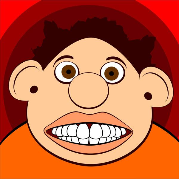 600x600 Weird Clipart Funny Face