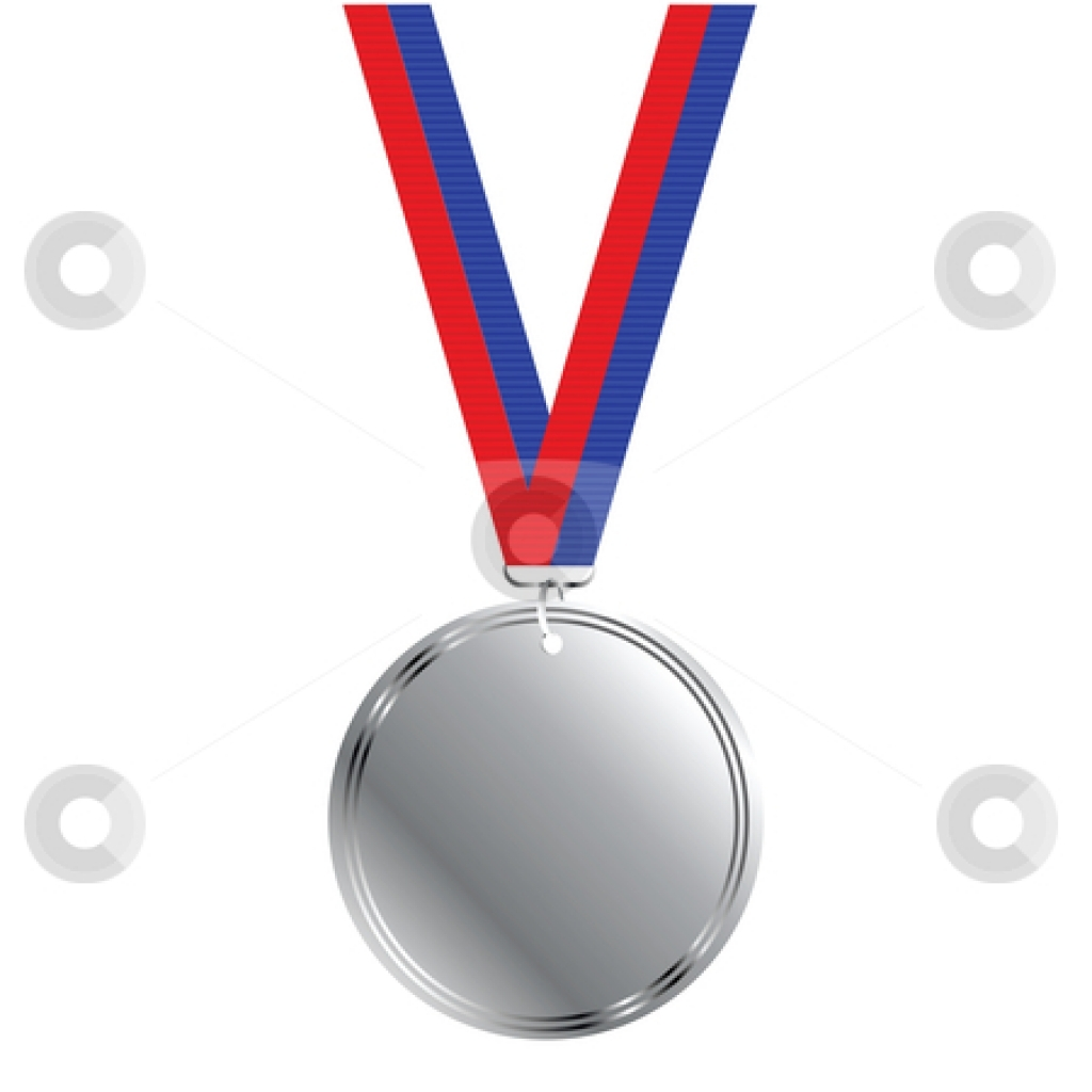1024x1024 Silver Medal Clipart And Graphics Silver Metal Clipart