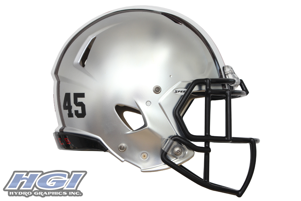 1000x667 Graphics For Silver Football Helmet Graphics