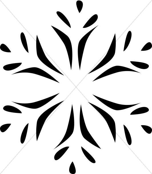 532x612 Radial Winter Design Page Accents