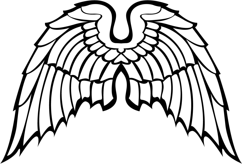 1500x1019 Free Vector Angel Wings
