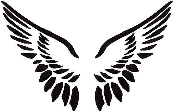 564x357 Bright And Modern Angel Wings Clip Art Peterm Free Vector In Open