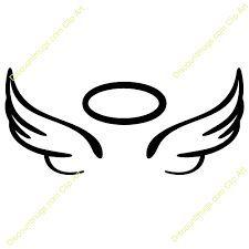 225x225 Resultado De Imagem Para Easy To Draw Angel Wings Halo Tattoos