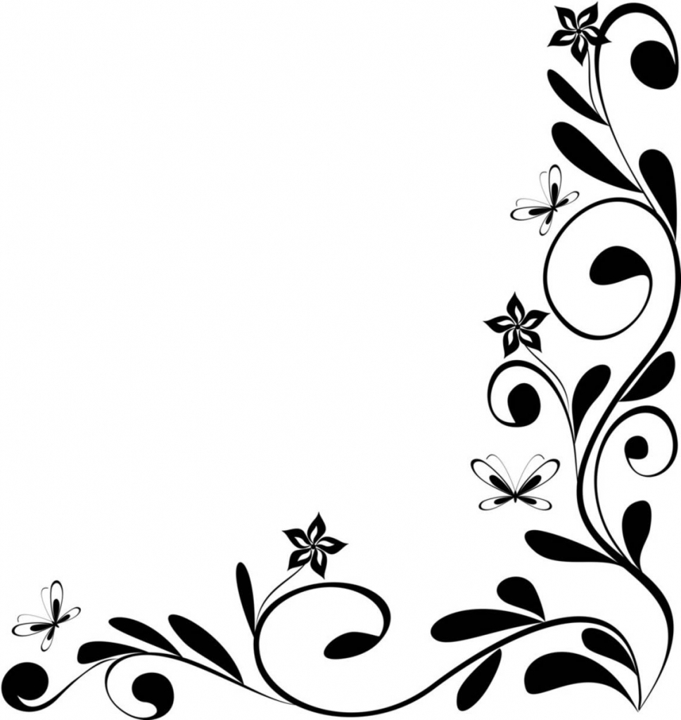 968x1024 Design Flowers Pencil Drawing Art Simple Flower Sketch Free